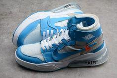 e633a4eb612 Off-White x Nike Air Force 270 x Air Jordan 1 High UNC For Sale