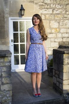 Sew Over It Vintage Shirt Dress, tested by Vicki. Click through for the pattern