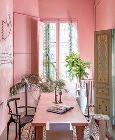 Jane Rockett (@rockettstgeorge) • Instagram photos and videos Interior Rugs, Apartment Interior Design, Bohemian Interior, Pantone, Decoracion Vintage Chic, Spanish Interior, Terrazo, Pastel House, Boutique Fashion