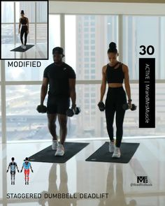 Fitness Workouts, Hiit Workout Videos, Full Body Hiit Workout, Gym Workout For Beginners, Fitness Workout For Women, Dumbbell Workout, Butt Workout, At Home Workouts, Muscle Workouts
