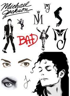 Afbeeldingsresultaat voor michael jackson tattoo