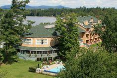 Auberge Quilliams Lac Brome Cantons de l'Est Estrie : Hôtellerie de charme