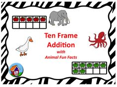 Try a new twist on task cards...math problems with fun facts!