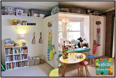 Playroom Ideas from The Artful Child