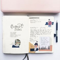 Hello August . . I decided to do a hipster-ish theme this month if that makes any sense haha. Architecture, forests, muted colour palette with pops of red and navy.