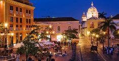 Plaza de Santa Teresa, Cartagena, Colombia.