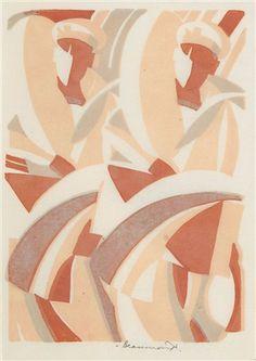 Leonard Beaumont (British, 1891–1986) Title:     Leave , 1932