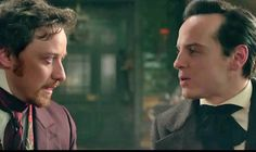 Andrew Scott and James McAvoy in Victor Frankenstein! A dream come true !!! A dream I never knew I had until now !!!