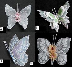 Butterflies embellishments III by WangoArt on Etsy, $2.50