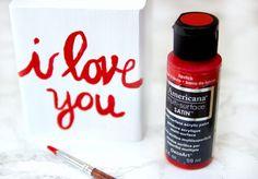 DIY Valentine's Day Lightbulb Gift