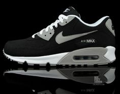 6bf4a21a23b Nike Air Max 90  Black Canvas  - Now Available