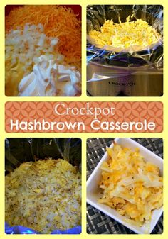 You will love this easy Crockpot Hashbrown Casserole side dish recipe made in the slow cooker! Tastes just like Cracker Barrel.
