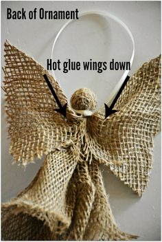burlap and lace angel Archives - The Frumpy Bumpkin