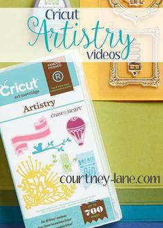 Cricut Artistry videos!