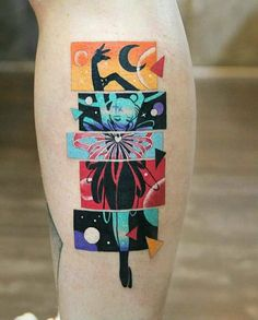 Sailor Moon Transformation Tattoo – Sailor Moon Transformation Tattoo –… - Famous Last Words