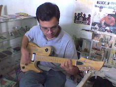 Guitarra fabricada sob encomenda modelo exclusivo