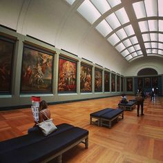 I've been a bit lax with my museum postings so picking up where I left off. Paintings for days at the Louvre - - - -
