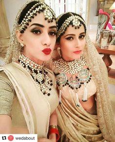 Wow this jewelry is amazing Photo credit unknown . . #indianjewelry #indianjewelery #indianwedding #indianbride #kundan #kundanjewelry #meenakari #kishandasforsabyasachi #sabyasachi