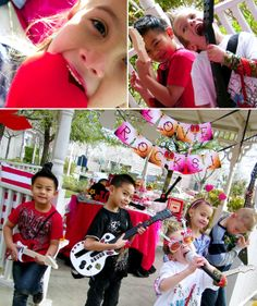 more love rocks party!! Aghhh.so stinkin cute!
