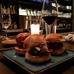 The beef sliders appetizer from Due South in Washington DC.