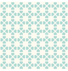 Seamless geometric pattern with hearts vector - by svetolk on VectorStock®