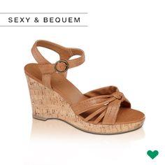#Lyoness | Weil wir wunderbare #Wedges wollen! #schuhe #deichmann #fashion #heels #sandale #summer | https://www.lyoness.com/at/stores/de-at/109000238