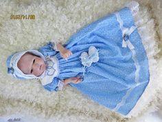Look vintage robe robe pour renaître poupée par CynandmarCreations