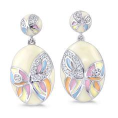 Enamel, Drop Earrings, Jewelry, Vitreous Enamel, Jewlery, Jewerly, Schmuck, Enamels, Drop Earring