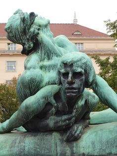 Praha Palackého náměstí. Autor  Stanislav  Sucharda.