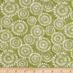 A New Leaf Pinwheel Swirl Celery from @fabricdotcom  Designed by Mitzi Powers for Benartex, this cotton print is perfect for quilting, apparel and home decor accents.  Colors include shades of green and white.