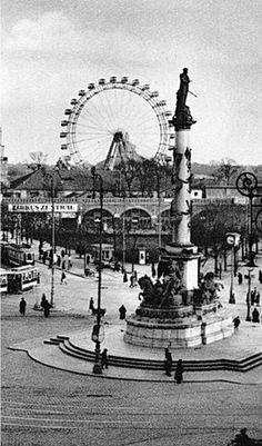 Praterstern ca. Carol Reed, The Third Man, Vienna Austria, Find Picture, Black And White Pictures, Old Pictures, Black And White Photography, Carnival, Europe