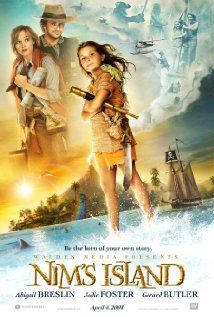 High resolution official theatrical movie poster ( of for Nim's Island Image dimensions: 1013 x Starring Abigail Breslin, Jodie Foster, Gerard Butler, Michael Carman Family Movie Night, Family Movies, Top Movies, Great Movies, Movies To Watch, Movies And Tv Shows, Children Movies, Cult Movies, Indie Movies