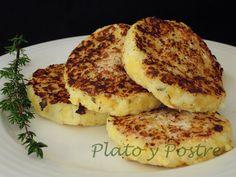 Tortitas de Coliflor y Patata