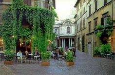 Bar Della Pace in Rome for aperitivo or cappuccino.