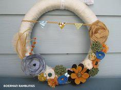 Fall Wreath.... - the PEARL blog