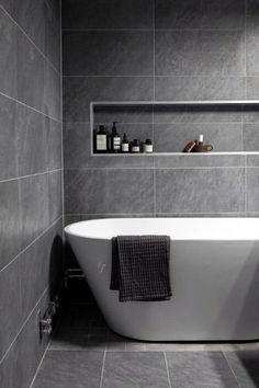 Neutral Bathroom Tile, Modern Bathroom Design, Bathroom Flooring, Bathroom Interior Design, Bathroom Cabinets, Bathroom Curtains, Bathroom Shelves, Bathroom Storage, Modern Toilet Design