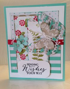 My Husbands fav card so far. Come visit my blog  www.stampwithkaren.blogspot.com