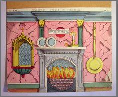 Pollocks Toy Theatre Original 1870s Backdrop Scene Lithograph Cinderella No 4 | eBay