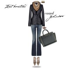 """""""CASUAL GLAM"""" by lisa-holt on Polyvore"""