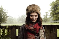 Faux fur and folksy scarves are our new season essentials! #AW14