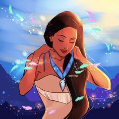 steamy pineapples — Listen with your heart, you will understand. Pocahontas Character, Disney Pocahontas, Disney Princesses, Disney Films, Disney And Dreamworks, Disney Pixar, Adventure Time Princesses, Greek Pantheon, Frozen Characters