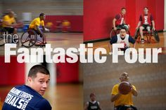 These Marine wounded warriors are dominating on the wheelchair basketball court.