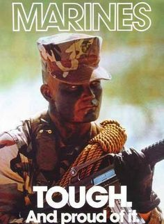 Marine Corp recruiting poster from the 90's ...my era