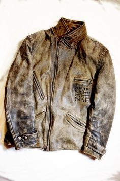Rare vintage Harley Davidson leather jacket