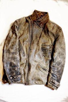 Rare vintage Harley Davidson leather jacket