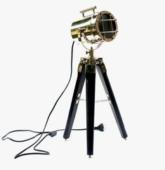 Tripod Spotlight Desk Lamp