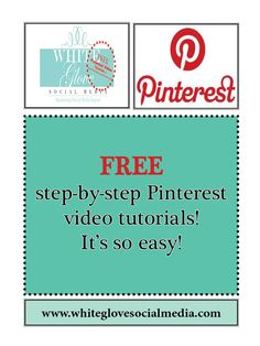 "Step-by-Step How To Use #Pinterest (#Video Tutorials) For beginners & advanced user. « ""SHARE"" with your friends - they'll love you for it!***Learn why Pinterest drives more website referral and sales traffic than any other social media platform. Click here to register for your FREE 15 min #Pinterest #webinar  http://www.whiteglovesocialmedia.com/webinar/#.UVDsy6VI3w5"