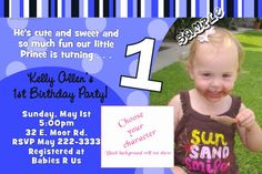 4th of July Birthday Invitations - Choose your color Scheme and Clipart -  Get these invitations RIGHT NOW. Design yourself online, download and print IMMEDIATELY! Or choose my printing services. No software download is required. Free to try!