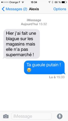 Quand ta blague na pas supermarché Funny Sms, Funny Messages, Funny Jokes, Lol, Funny Images, Funny Pictures, Morning Jokes, Cute Captions, Rage