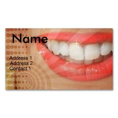 DENTIST BUSINESS CARD. This is a fully customizable business card and available on several paper types for your needs. You can upload your own image or use the image as is. Just click this template to get started!